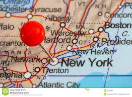 A Map Of New York City by Pushpin In New York Map Royalty Free Stock Photo Image 33920965