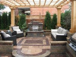 outdoor u0026 garden nice pergola covered stone patio ideas featuring