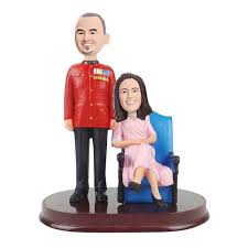 wedding toppers custom bobbleheads cake topper for weddings