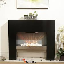 Black Electric Fireplace Black Electric Fireplace By Glowmaster Poundshrinker