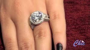 5 Carat Cushion Cut Engagement Rings 5 Carat Brilliant Cut Diamond Quality Cz Set In Platinum Setting