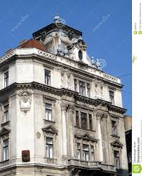 baroque architecture budapest royalty free stock photography