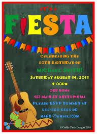birthday invites unique fiesta birthday invitations design ideas