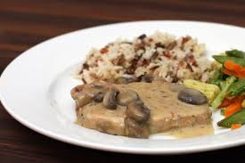 easy pork chops with mushrooms recipe