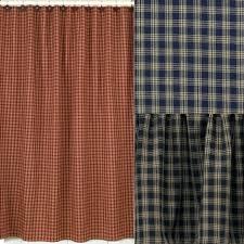 Navy Blue Plaid Curtains Navy Blue Plaid Shower Curtain Shower Curtains Design