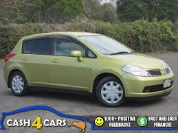 nissan tiida latio 2015 2005 nissan tiida 1 5 auto hatchback cash4cars sold