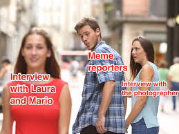 distracted boyfriend u0027 meme the couple from the photo speak out