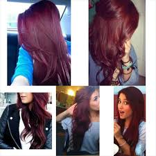 brown cherry hair color the 25 best cherry coke hair ideas on pinterest violet red hair