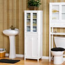 bathroom narrow linen cabinet tall narrow cabinet with doors