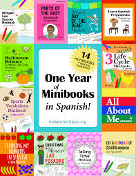 spanish thanksgiving kids ebook bundle giant sale trillium montessori