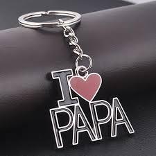 love key rings images Letter keychain i love papa keyrings christmas valentine gift love jpg