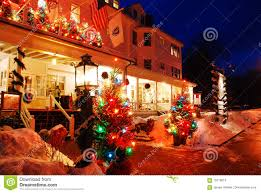 christmas at red lion inn editorial stock photo image 70718613