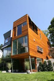 contemporary townhouse 313 best cedar cladding exterior residence home images on