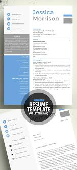 girly feminine resume template on word new clean resume templates with cover letter design graphic