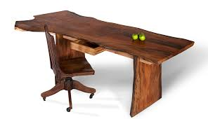 live edge computer desk live edge slab desk custom wood desk david stine woodworking