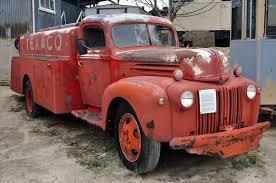 Antique Ford Truck Models - just a car guy 1946 ford model 69 texaco fuel tanker truck i
