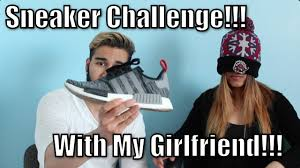 Sneaker Meme - sneaker guessing challenge with my hypebeast girlfriend youtube