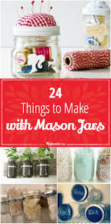 24 things to make with mason jars tip junkie