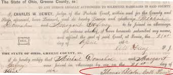 catholic marriage certificate greene county oh official website