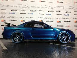 nissan r34 fast and furious nissan oak man designs