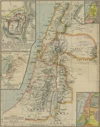 Uchicago Map Archaeology U0026 Sites Ancient Israel Resources For Ancient