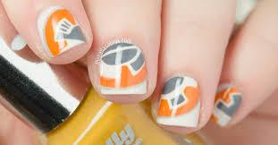 bb 8 nail art star wars the nailasaurus uk nail art blog