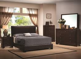 Beds And Bedroom Furniture Sets Coaster Conner Queen Upholstered Bed With Low Profile Coaster