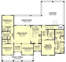 Porch Floor Plan by River Trace House Plan U2013 House Plan Zone