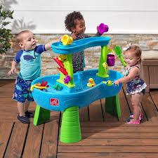 step2 rain showers splash pond sand and water table u0026 reviews