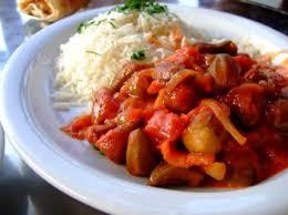 cuisine libanaise recette ragoût de gombos à la libanaise recettes de cuisine libanaise