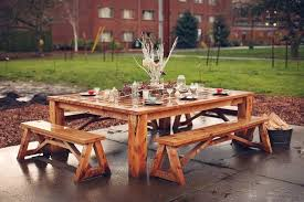 Best 25 Picnic Table Plans Ideas On Pinterest Outdoor Table by Attractive Large Wooden Picnic Table 25 Best Ideas About Wooden