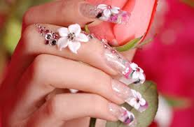 3d acrylic nail art designs emsilog tiny flower design nail model