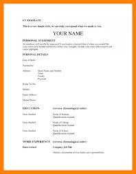 curriculum vitae templates pdf 6 basic curriculum vitae resume sections