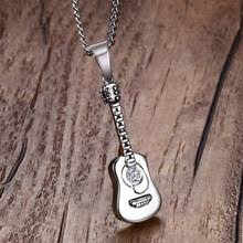Mens Personalized Necklace Online Get Cheap Personalized Guitar Pick Necklace Aliexpress Com