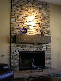stone veneer outdoor fireplace kit pics stacked accessories