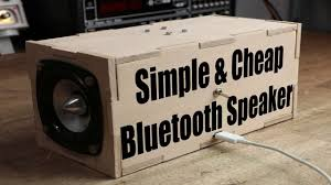 Design Your Own Transportable Home Make Your Own Simple U0026 Cheap Portable Bluetooth Speaker Youtube