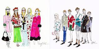 best fashion illustrators to follow on instagram vogue