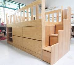 loft bed with storage custom kids furniture in singapore