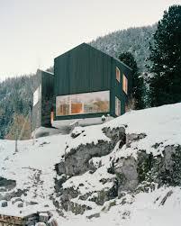 swiss chalet house plans quietly swiss alpine modern