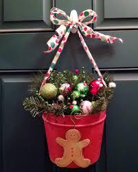 delightful front door christmas deco identifying pleasant hanging
