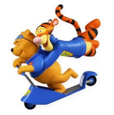 2009 friends tigger pooh disney hallmark keepsake ornament