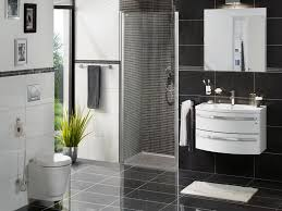 Decorating Ideas For Bathroom Walls Bathroom Black And White Wall Decor Interior Design