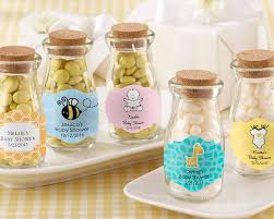 jar party favors personalized milk bottle favor jars for baby showers kate aspen