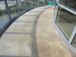 Exterior Epoxy Floor Coatings Outdoor Concrete Flooring Balcony Project Premier Concrete