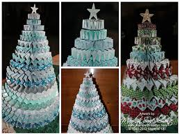Christmas Tree Decorations To Make Out Of Paper Handmade 3d Christmas Tree