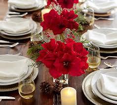 Silk Amaryllis Flowers - amaryllis composed arrangement pottery barn