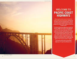 Southern Lights Book by Lonely Planet Pacific Coast Highways Road Trips Travel Guide