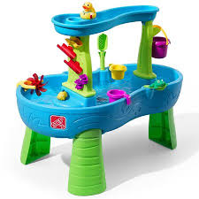 step 2 sand and water table parts step2 rain showers splash pond water table walmart com