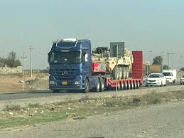 Truck Route Maps A Us Military Convoy About 10 Trucks Outside Erbil Today At 2 Pm