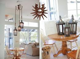Candle Chandelier Pottery Barn Lucky Old Sun Ranch Lantern And Chandelier Pottery Barn